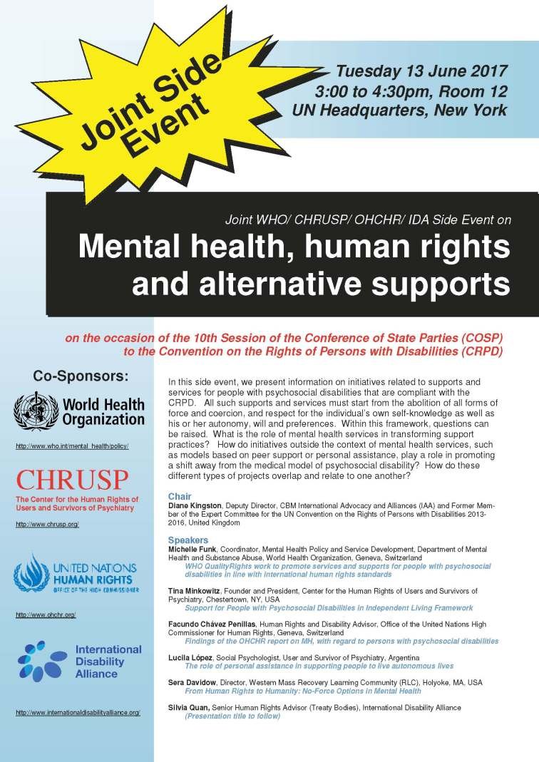 FLYER for COSP Side Event